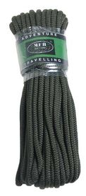 MFH polypropylénové lano 15 metrov 9mm olivové