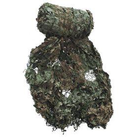MFH použitá maskovacia sieť olivovo-hnedá 7,5 x 7,5m