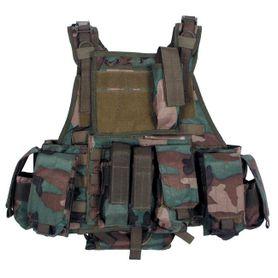 MFH Ranger Modular taktická vesta, woodland