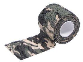 MFH Samosťahovacia maskovacia páska, woodland