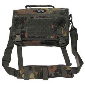 MFH Side taška cez rameno, flecktarn
