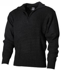 MFH troyer islandský sveter čierny