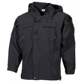 MFH US bunda soft shell čierna - level5