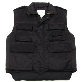 MFH US Ranger zateplená vesta čierna