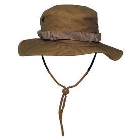 MFH US Rip-Stop klobúk vzor coyote tan