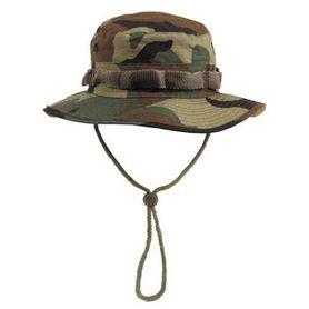 MFH US Rip-Stop klobúk vzor Woodland