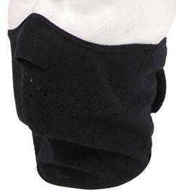 MFH Warm maska na tvár, čierna