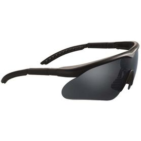 Swiss Eye® Raptor Safety taktické okuliare, čierne