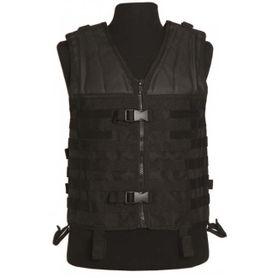 Mil-Tec Carrier taktická vesta molle systém čierna