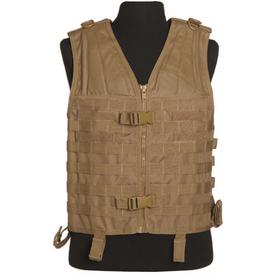 Mil-Tec Carrier taktická vesta molle systém coyote