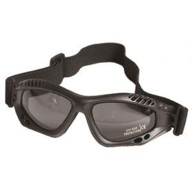 Mil-Tec Commando Smoke ochranné okuliare, čierne