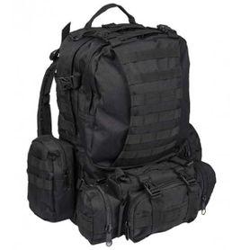 Mil-Tec Defence ruksak čierny, 36l