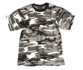 Mil-Tec detské tričko vzor urban