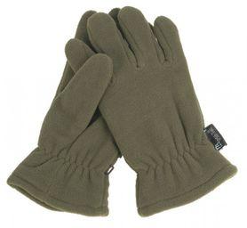 Mil-Tec Fleece Thinsulate™ rukavice, olivové