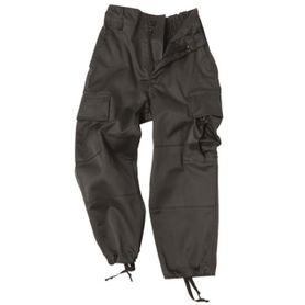 Mil-Tec Hose detské nohavice, čierne