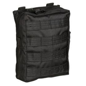 Mil-Tec LG Molle multifunkčná kapsa, čierna