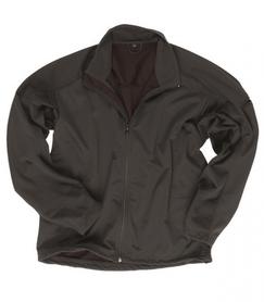 Mil-Tec lite SoftShell bunda 3-vrstvová lahká čierna
