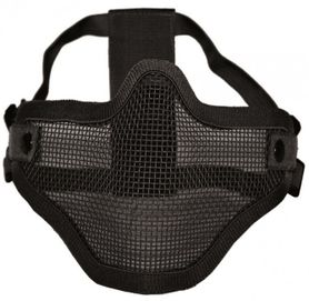 Mil-Tec OD Airsoft maska na tvár, čierna