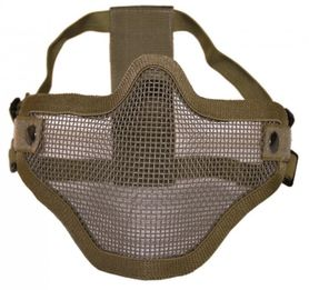 Mil-Tec OD Airsoft maska na tvár, coyote
