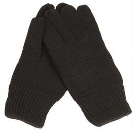 Mil-Tec pletené rukavice, čierne