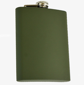 Mil-Tec ploskačka olivová obsah 4oz./110 ml