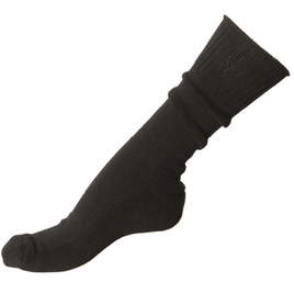 Mil-Tec ponožky - podkolienky US froté 1 pár, čierne