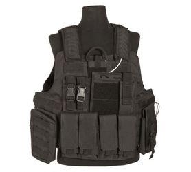 Mil-Tec Release CIRAS taktická vesta, čierna