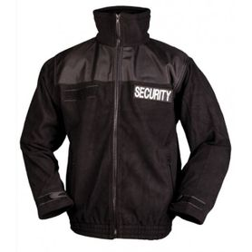 Mil-Tec Security flisová mikina, čierna