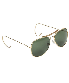 Mil-tec slnečné okuliare Air Force s púzdrom, tmavo zelené