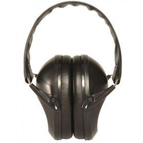 Mil-tec slúchadlá proti hluku, čierne