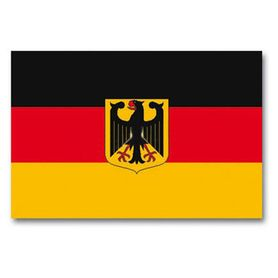 Mil-Tec štátna vlajka SRN s orlicou, 150 cm x 90 cm