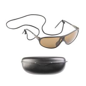 Mil-tec Suvasol slnečné okuliare švajčiarske s plastovým puzdrom, čierne
