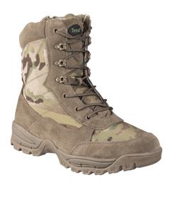 Mil-Tec taktická obuv na zips, Multicam
