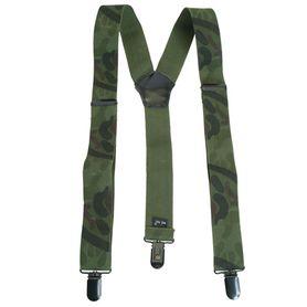 Mil-tec traky na nohavice clip, woodland