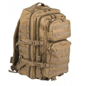 Mil-Tec US assault Large ruksak Coyote, 36L