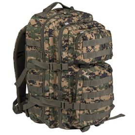 Mil-Tec US assault Large ruksak Digital woodland, 36L