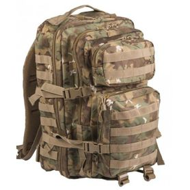 Mil-Tec US assault Large ruksak Woodland-Arid, 36L