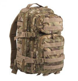 Mil-Tec US assault Small ruksak woodland-arid, 20L