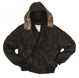 Mil-Tec US N2B bunda, čierna