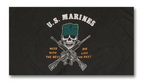 Mil-Tec vlajka u.s.marines, 150 cm x 90 cm