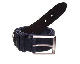 Foster opasok s kovovou prackou, elastický, modrý, 3.6cm