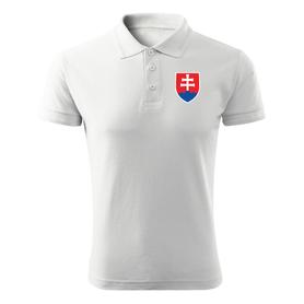 O&T polokošela malý farebný slovenský znak, biela 200g/m2