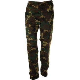Pánske nohavice BDU, vzor woodland