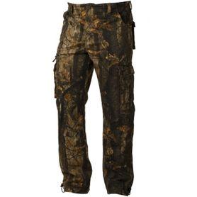 Loshan DarkForrest pánske nohavice vzor Real tree tmavé