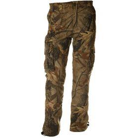 Loshan Kerry pánske nohavice vzor Real tree tmavé hnedé