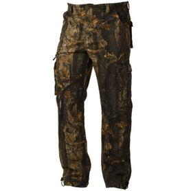 Loshan DarkForrest pánske zateplené nohavice vzor Real tree tmavé