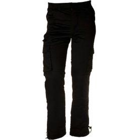 Pánske zateplené nohavice loshan elwood čierne