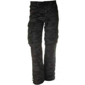 Pánske zateplené nohavice loshan roberto vzor night camo