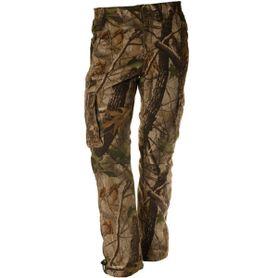Loshan Sidney pánske zateplené nohavice vzor Real tree hnedé