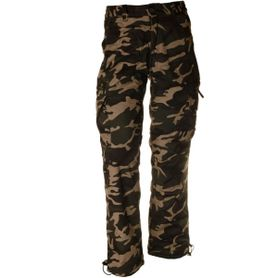 Pánske zateplené nohavice loshan igancio vzor woodland